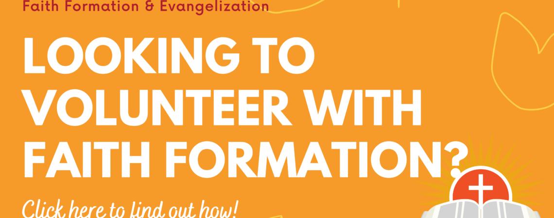 Faith Formation & Evangelization